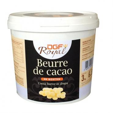 Какао DGF масло в каплях Service, FR