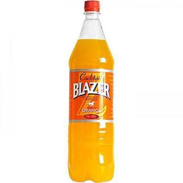 Пивной напиток со вкусом апельсина 8%, Blazer, 1,5 л., Пластиковая бутылка