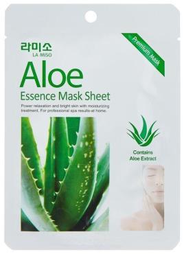 Маска La Miso Premium Essence Mask тканевая с экстрактом алоэ вера