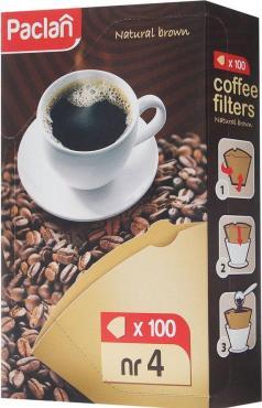 Фильтры для кофеварки Paclan №4