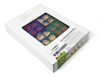 Тарталетка Pidy тонк. ассорти 4 вкуса овощей D32/H15 мм, FR