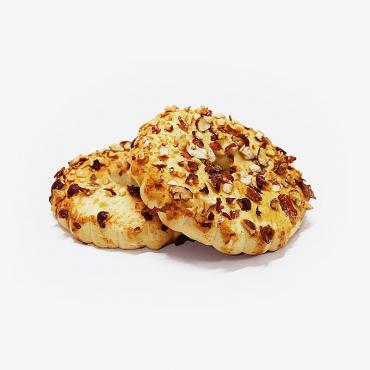 Печенье Лилия Кольцо песочное с арахисом