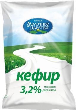 Кефир Молочное царство Тверца 3,2%