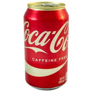 Напиток Coca-Cola газированный Caffeine Free, 350 мл, ж/б