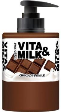 Жидкое мыло Vita&Milk С ароматом Шоколада и молока