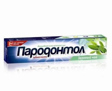 Зубная паста Пародонтол Экстракт зеленого чая