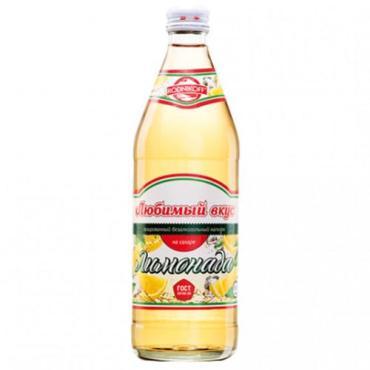 Лимонад, Любимый вкус, 500 мл., стекло