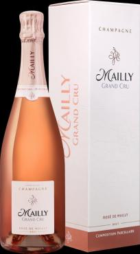 Вино розовое игристое Champagne Mailly Grand Cru Rose de Mailly brut, 750 мл., стекло