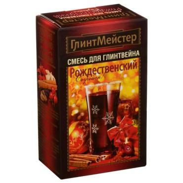 Набор специй для глинтвейна Глинтмейстер Рождественский, 44 гр., картонная коробка