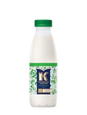 Кефир ж.1%, Кремлевское Качество, 930 мл., Пластиковая бутылка
