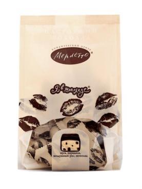 Конфеты Марлетто Я в шоколаде нуга, карамель, воздушный рис, шоколад