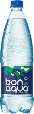 Вода Bon Aqua газированная 1л
