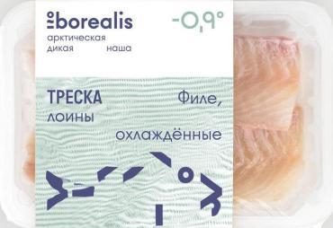 Треска Borealis филе без кожи