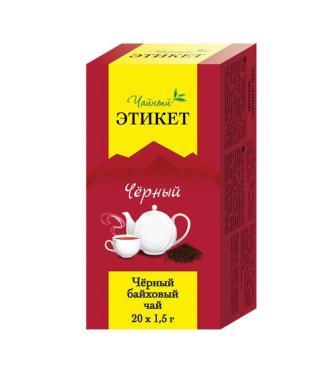 Чай Этикет черный б/я 48 шт.