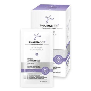 Маска для лица Антистресс с еврослотом, Biтэкс Pharmacos, 10 мл., пластиковый пакет