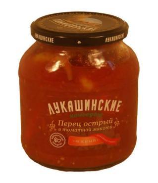Перец Лукашинские Острый в томатной мякоти Южный Домашний рецепт