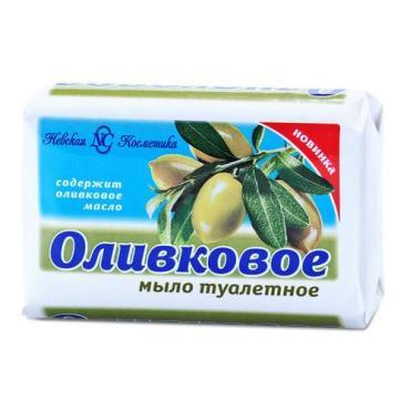 Мыло Невская косметика Оливковое Кусковое
