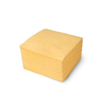 "Салфетки ""Папирус"" желтые, 2-слойные, 330*330 мм"