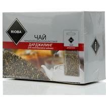 Чай черный Rioba Дарджилинг 20 пакетов для заваривания в чайнике