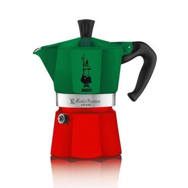 Кофеварка Bialetti Moka Express триколор 6 порций
