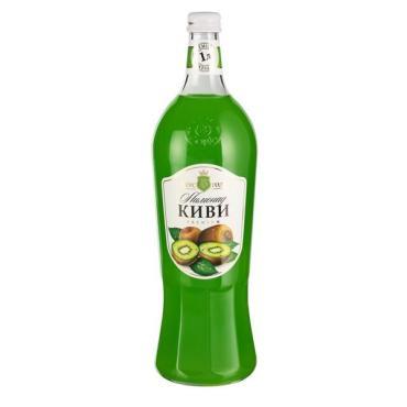 Лимонад киви сильногазированный, Вкус Года,1 л.,стекло