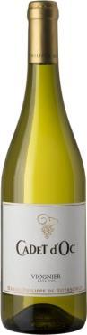 Вино Сепаж де Каде д'Ок Вионье / Cepages de Cadet d'Oc Viognier,  Вионье,  Белое Сухое, Франция