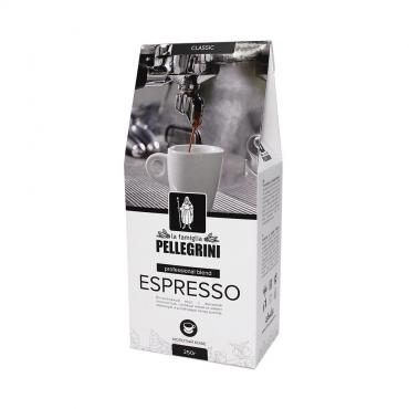 Кофе молотый la famiglia Pellegrini Экспрессо  смесь отборных зерен