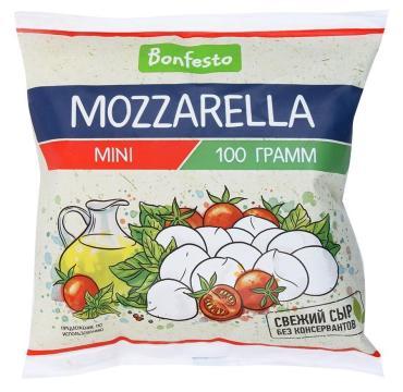 Сыр Bonfesto Моцарелла мини в рассоле 45%