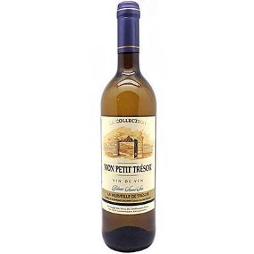 Вино Mon Petit Trezor столовое белое полусладкое 10%