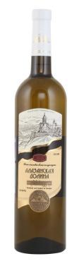Вино Алазанская Долина столовое белое полусладкое 13%