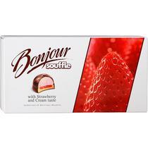 Печенье Bonjour Souffle with strawberry and cream taste
