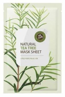 Маска для лица The Saem Natural Tea Tree Mask Sheet тканевая с экстрактом чайного дерева