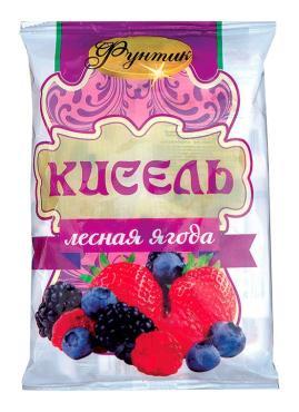 Кисель Фунтик Лесные ягоды 20 пакетов
