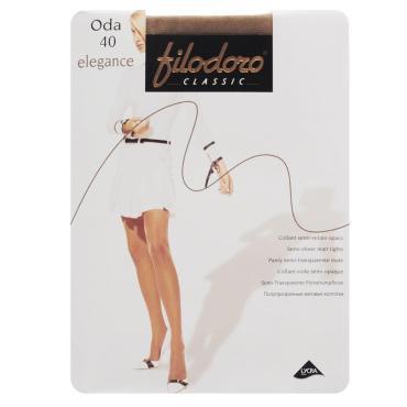Колготки 40den, 2S, Filodoro Classic Oda Elegance Cognac, пластиковый пакет