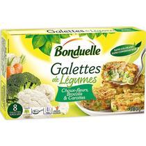Галеты Bonduelle Королевские овощные из цветной капусты брокколи и моркови замороженные