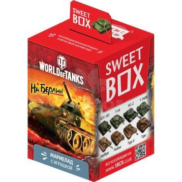 Мармелад Конфитрейд Sweet Box World of Tanks жевательный с игрушкой