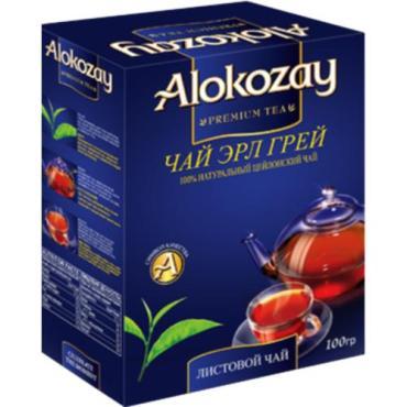 Чай черный Alokozay Эрл Грей