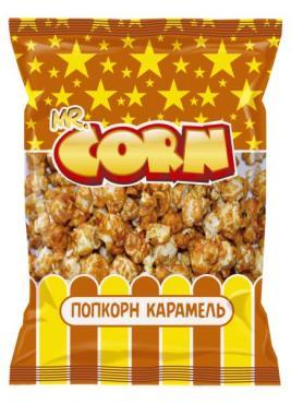 Попкорн Mr. Corn сладкий Карамель