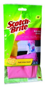 Перчатки Scotch-Brite Хозяйственные Для уборки на кухне M