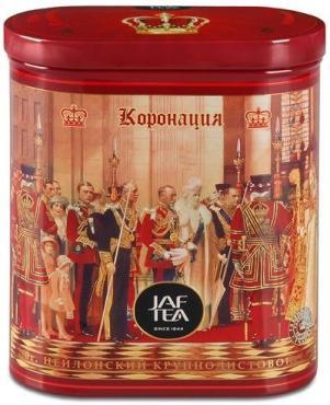 Чай JAF TEA Коронация черный, крупнолистовой, сорт ОРА 200 гр.