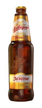 Пиво Аливария Золотое 4,8%