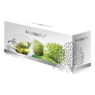 Чай Heladiv Green Soursop Tea зеленый с ароматом саусепа, 25 пак.