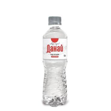 Вода питьевая негазированная Данай, 500 мл., ПЭТ