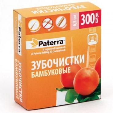 Зубочистки Paterra Бамбуковые 300шт