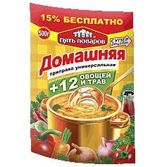 Приправа домашняя Пять поваров, 200 гр., дой-пак
