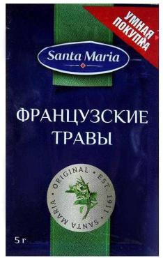 Французские травы Santa Maria 5 гр., пластиковый пакет