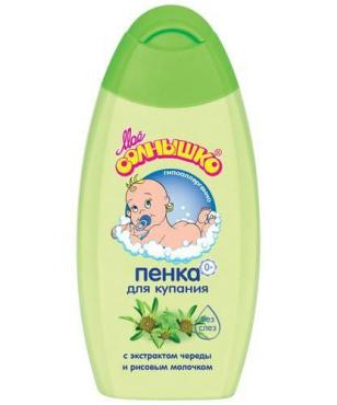 Пена для ванны гипоаллергенный, Мое солнышко 200 мл., Пластиковая бутылка