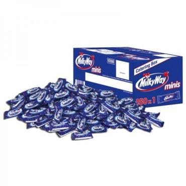 Конфеты шоколадные минис Milky Way, 6 кг., картонная коробка