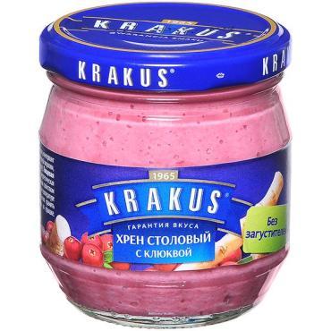 Хрен Krakus столовый с клюквой