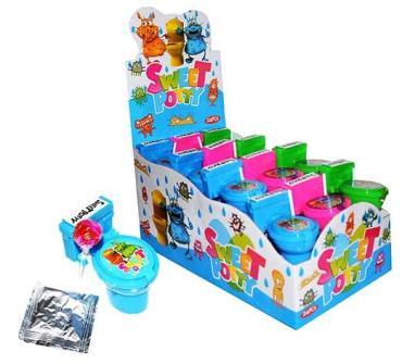 Сладкий набор с игрушкой-сюрпризом Прикасса Sweet Potty, 10 гр., пластиковая упаковка
